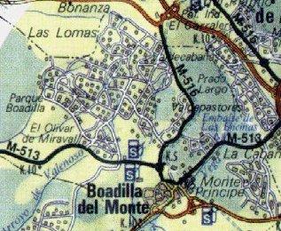 Boadilla del monte situacin geogrfica - Residencia boadilla del monte ...